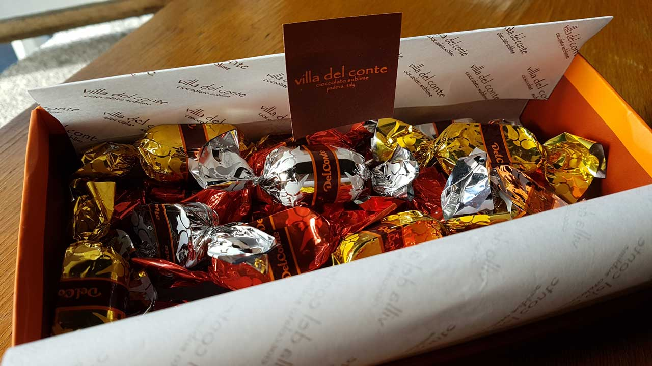 Indulge in Villa Del Conte's Dark Chocolate goodness