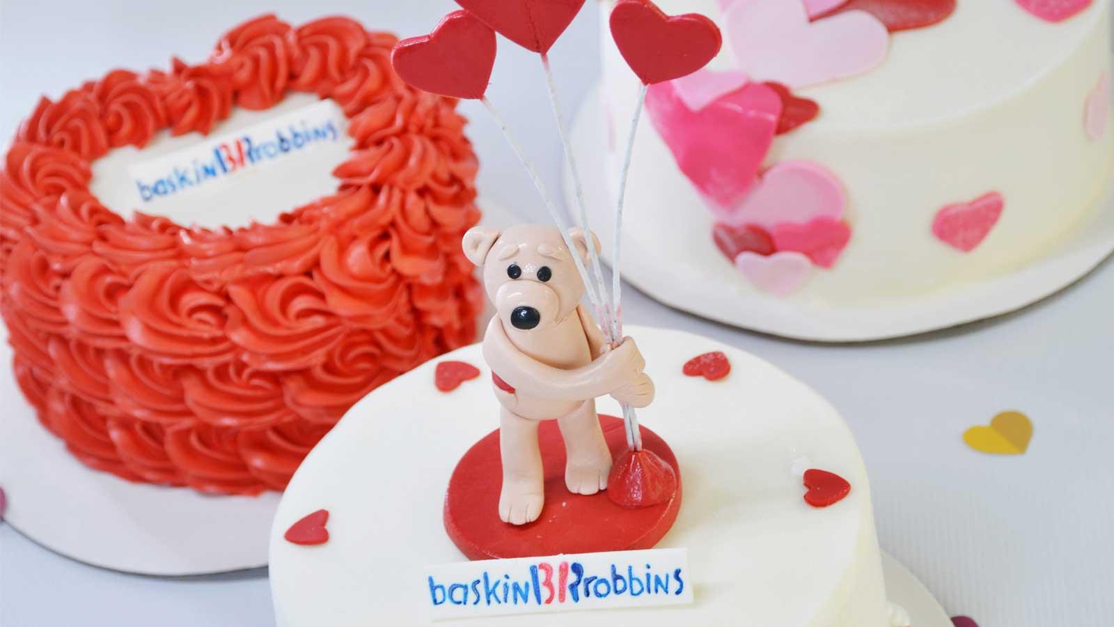Celebrate love with Baskin-Robbins
