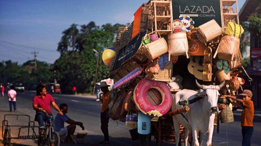 Lazada goes offline