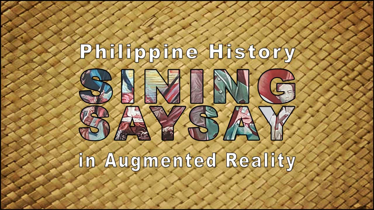 Philippine history in augmented reality