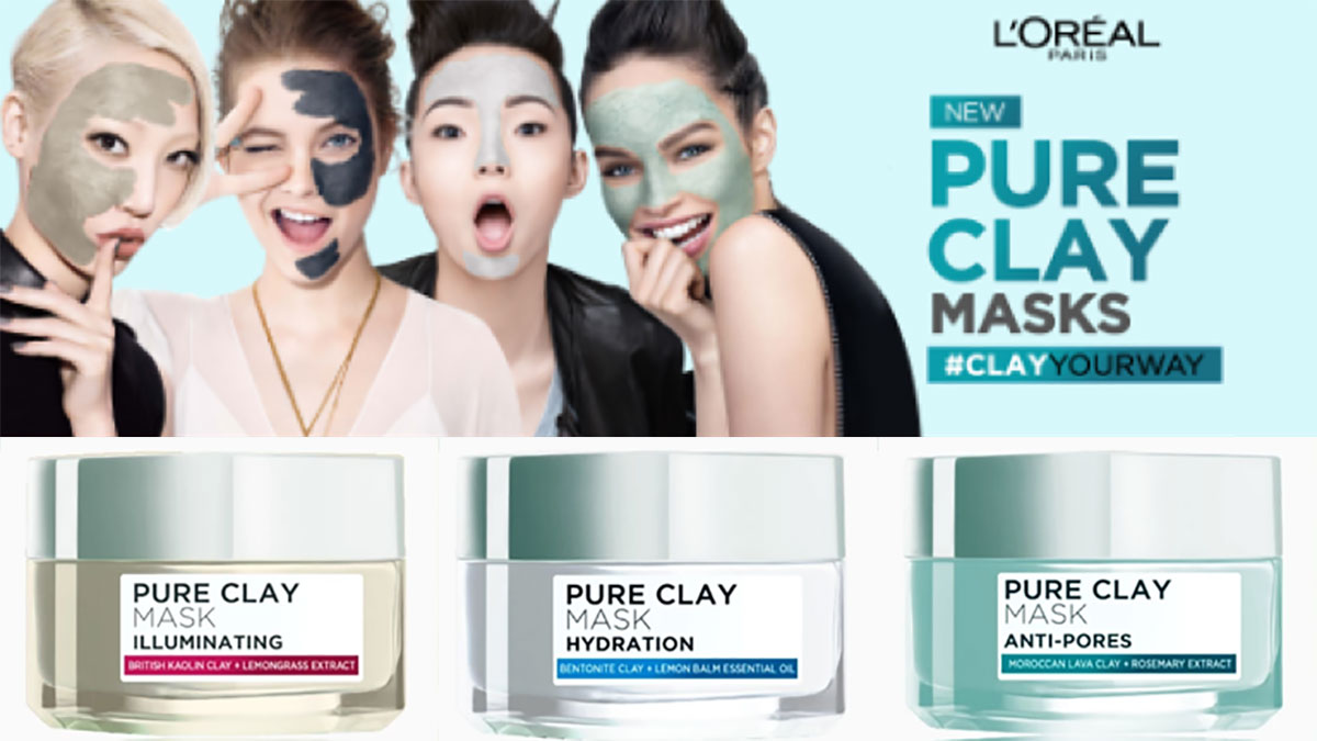 #ClayYourWay  with L'Oréal Paris Pure Clay Mask