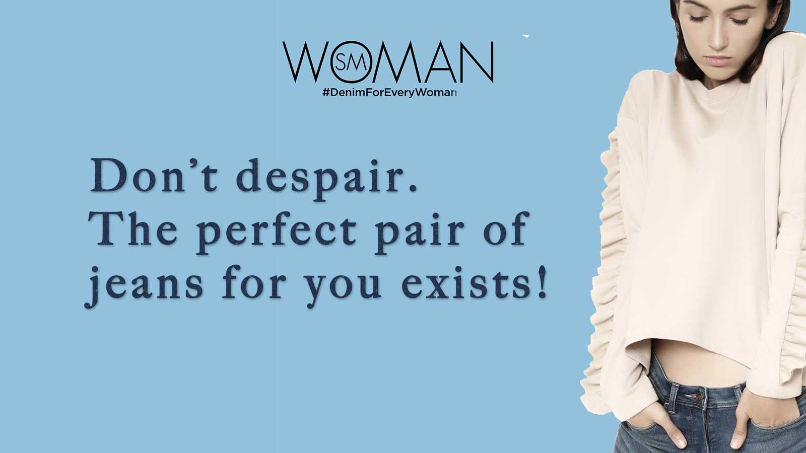 SM Woman #denimforeverywoman