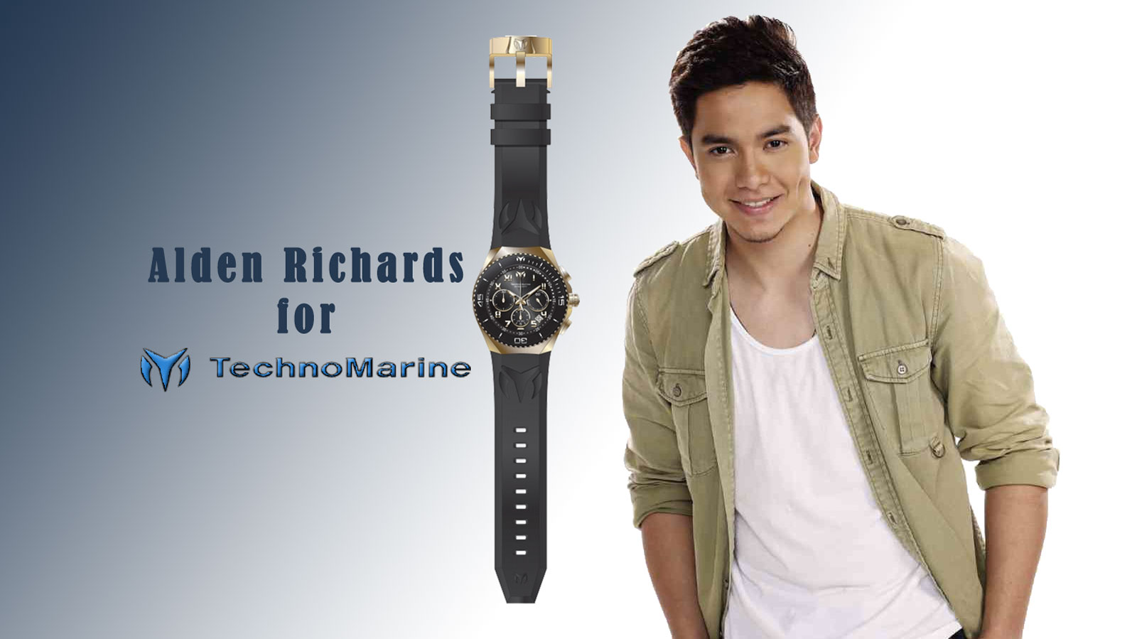 TechnoMarine renews partnership with Alden Richards