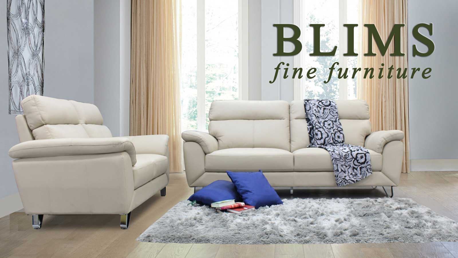 Turns dream homes into reality with Blims' 40th anniversary sale