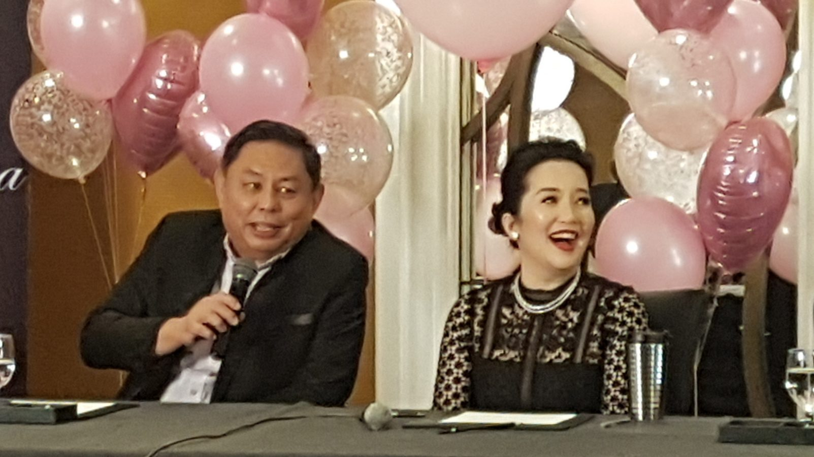 Ever Bilena welcomes Kris Aquino