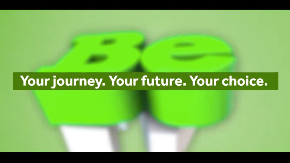 Your journey, your future, your choice
