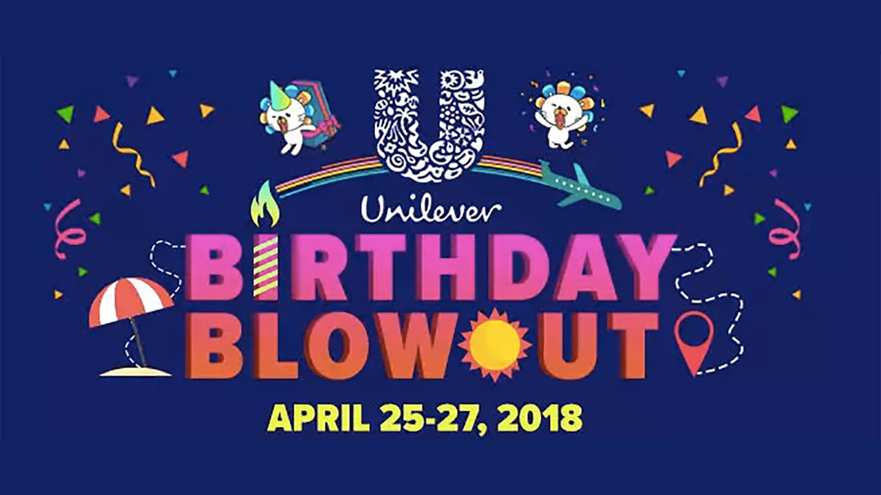 Feel like it's your birthday with Unilever's exciting deals at Lazada