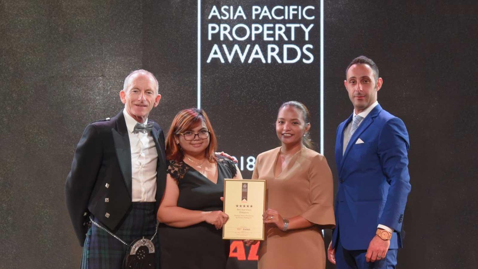 Botanika Nature Residences wins top award at APPA 2018