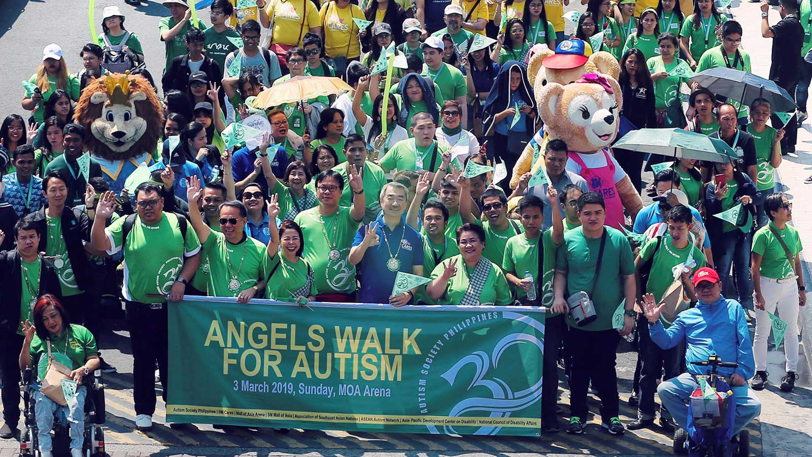 Thousands join Angel's Walk for Autism