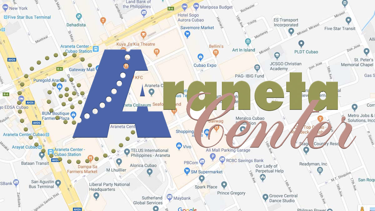 Araneta Center, Cubao parking rates
