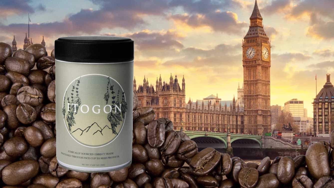 Itogon Coffee at the World Travel Market