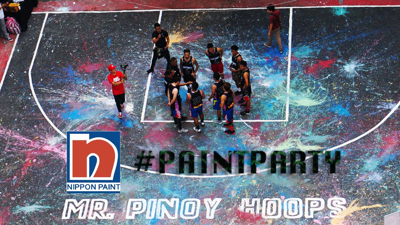 Mr. Pinoy Hoops Held A #PAINTPARTY The Nippon Paint Way!