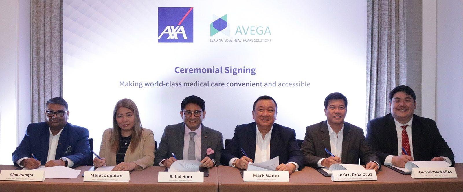 AXA Philippines inks partnership with Avega Managed Care