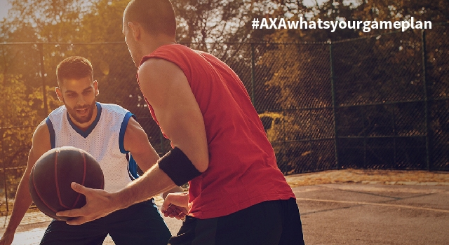 Bounce back with a winning game plan from AXA and NBA