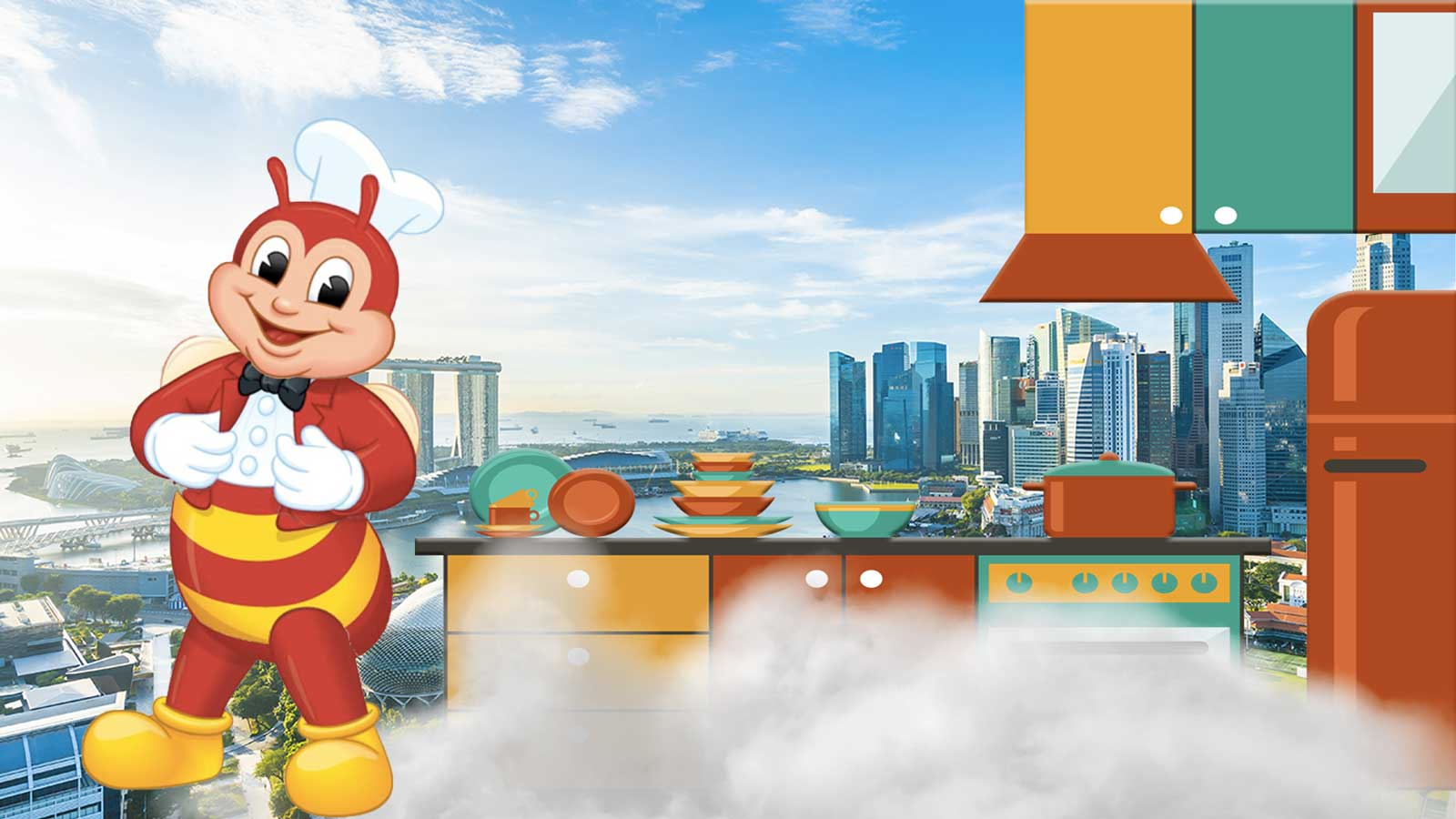 Jollibee Opens First Cloud Kitchen in Singapore
