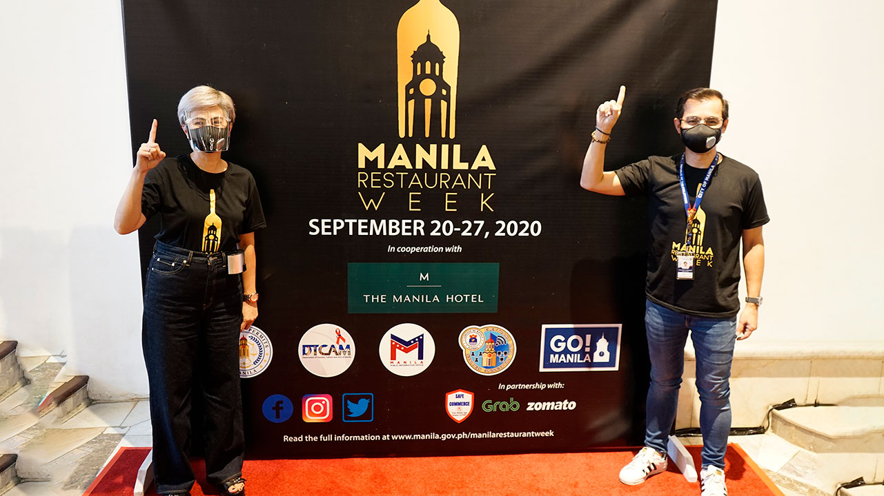 The Manila Hotel joins Manila Restaurant Week from Sept. 20 to 27, 2020