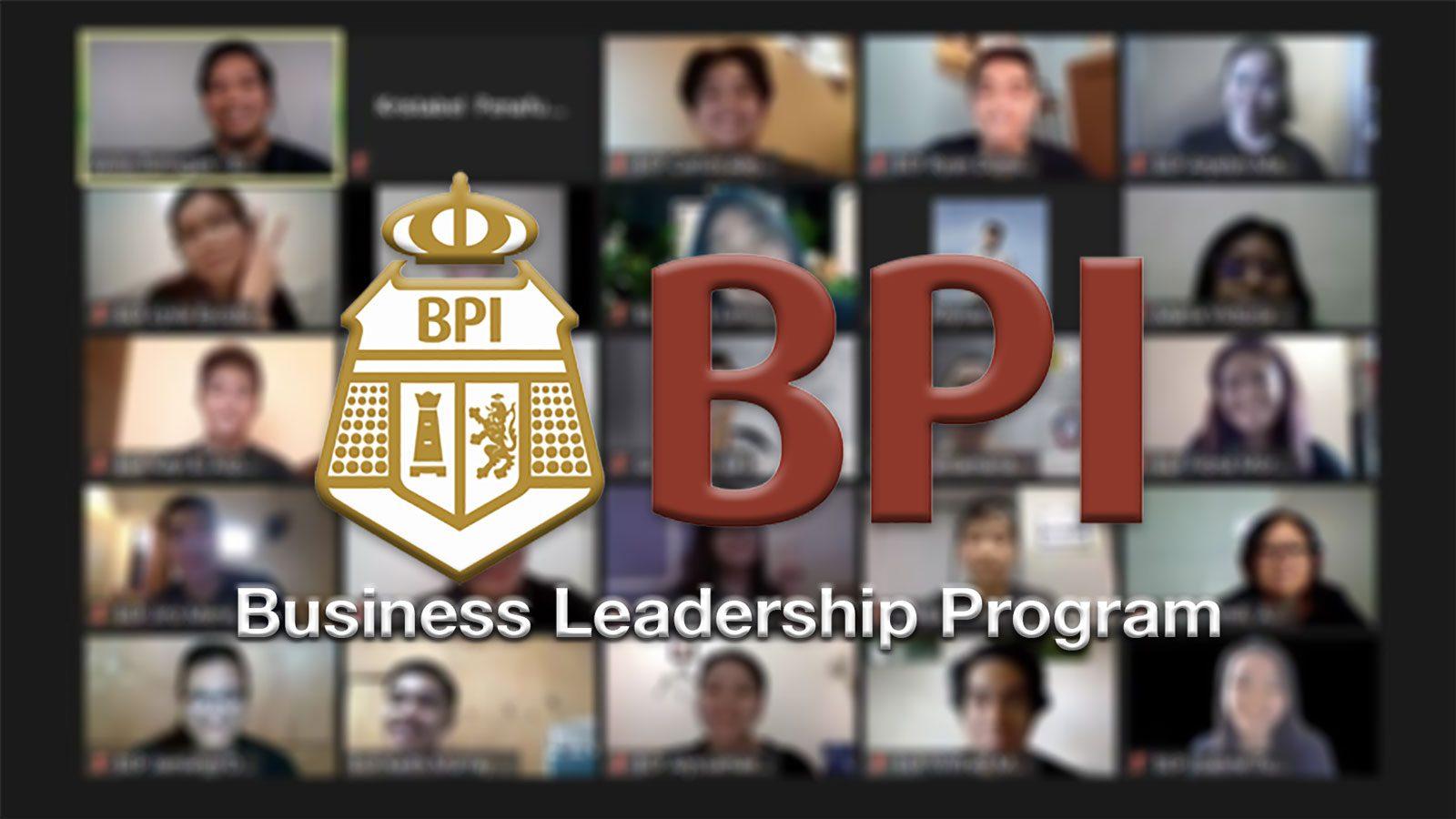BPI takes Business Leadership Program 2020 online