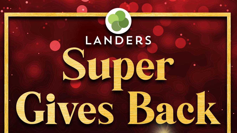 Landers 4th anniversary treat